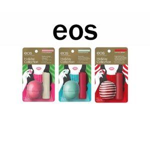 BUNDLE New EOS Limited Edition Lip Balm Set NWT